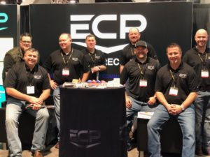 Photo of the whole ECP team at World of Concrete.