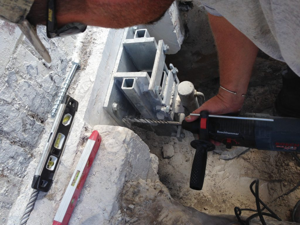 foundation repair products used for underpinning