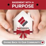 Epp Concrete: Featured Job Friday, Basement with a Purpose