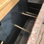 Foundation Support Specialists waterproofing a home for a hurricane