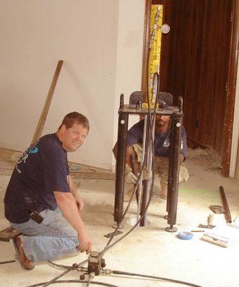 foundation repair team