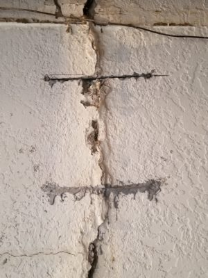 wall crack repair