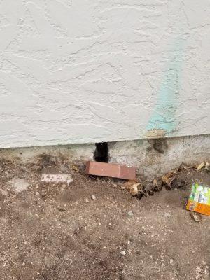 wall crack