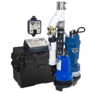 Pro Series Sump Pumps for interior waterproofing
