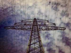 utility transmission tower