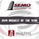 SEMO Mudjacking & Piering, Atlas Piers of Atlanta win Project of the Year
