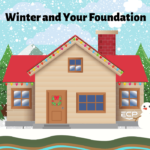 infographic on winter foundation problems